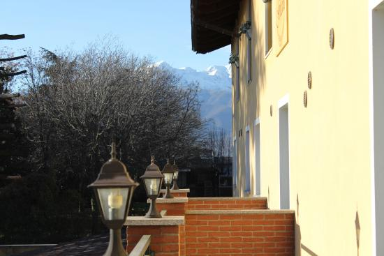 Hotel Villa Glicini: View from the balcony