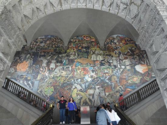 Mexico alameda dominical diego rivera picture of museo for Diego rivera mural new york
