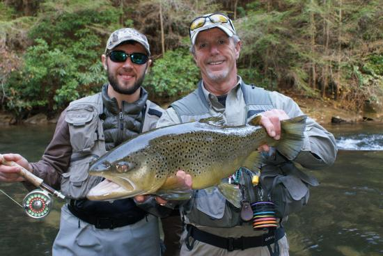 Nice march trout picture of blackhawk fly fishing for Blackhawk fly fishing