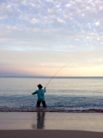 Fly fishing hawaii 39 s big island picture of fishing from for Fishing big island hawaii