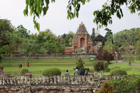 Taman ayun temple: from outside its all surrounded by waterway