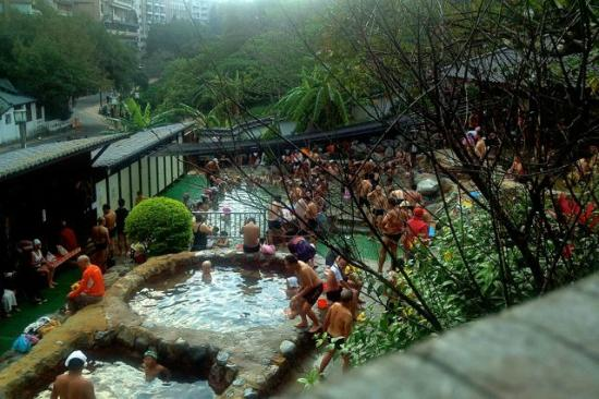 Public Thermal Hot Springs in XinBeitou - Picture of Beitou Hot Spring ...