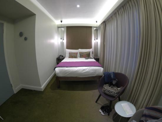 Chambre double picture of arbor hyde park hotel london for Chambre london