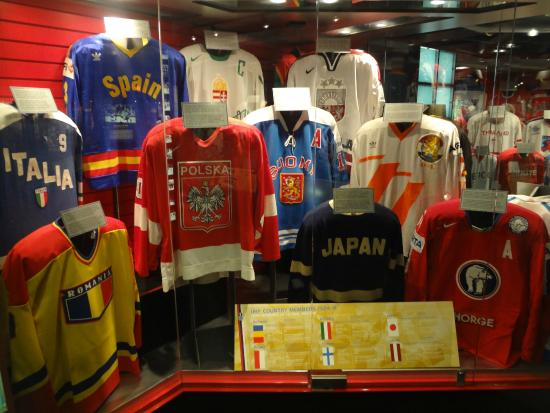 Hockey Hall Of Fame is one of the greatest hockey museum which was started officially on August 26, IN their shop section you can find various products inspired by hockey like hats, bags, jerseys, playoffs, kids wear, jackets, polos, t-shirts, and many other products.