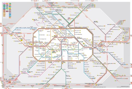 Public transport map - Picture of Ibis Budget Amsterdam Airport ...