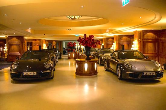 Arriving at the interalpen in our porsche 911 39 s picture for Designer hotel tirol