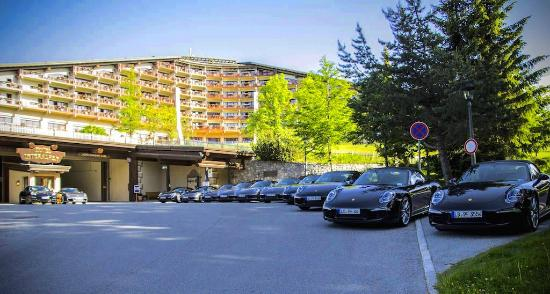 Departing The Interalpen In Our Porsche 911 S Picture Of
