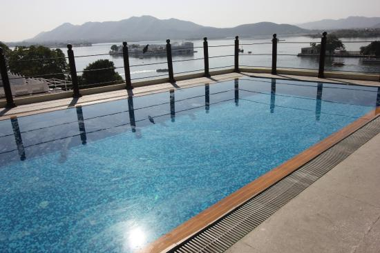 Rooftop Pool Picture Of Hotel Udai Garh Udaipur Tripadvisor