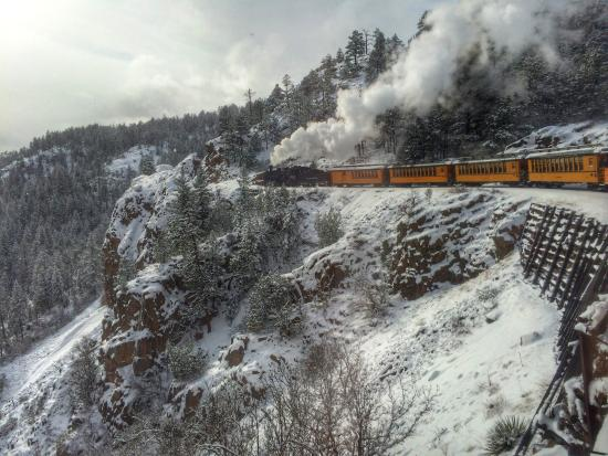 Snowy new year 39 s day trip picture of durango colorado for Durango fish hatchery