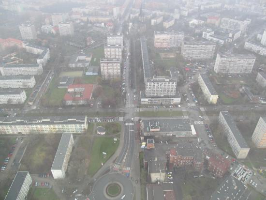 Sky Tower Wroclaw Sky Tower Wroclaw From The