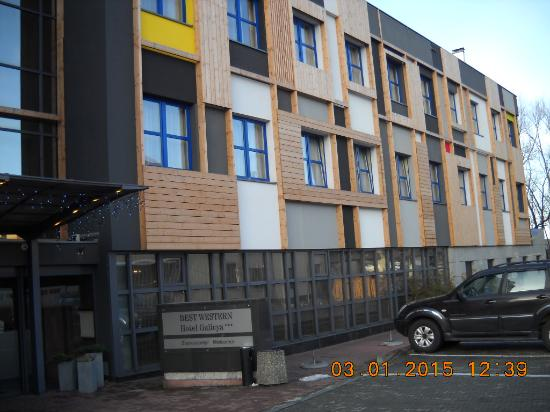 Best Western Hotel Galicya: Front facade and entrance