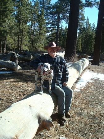 Pine Mountain Club, CA: Outside of the Old Bear Bed and Breakfast