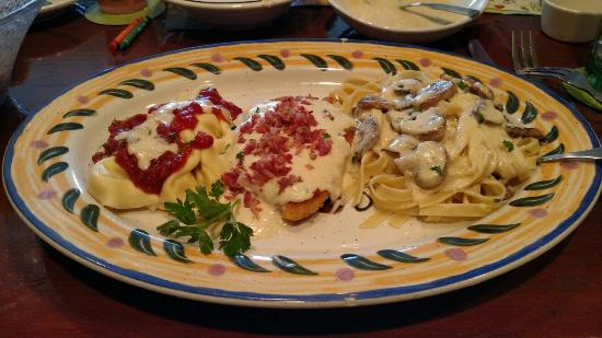 The Northern Tour Of Italy Chicken Lombardy Asiago