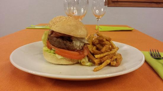 Ultramort, Spain: Hamburguesa