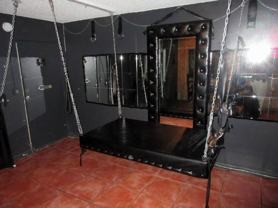Play equiptment in 2nd floor bed bondage room for Design hotel hollywood florida