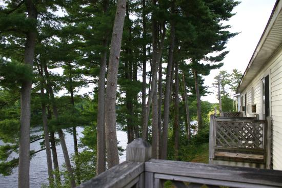 Milford, ME: View from Deck
