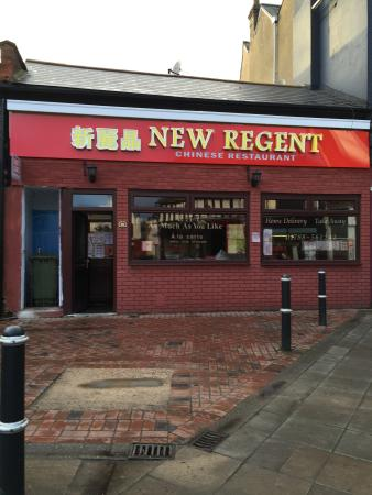 Rugby, UK: NEW REGENT CHINESE RESTAURANT