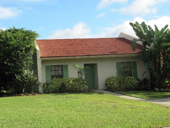 One Of The Houses In West Village Picture Of Holiday Inn Club Vacations Orlando Orange Lake