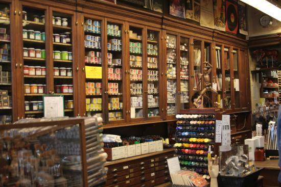 Sennelier Art Store Paris France Hours Address