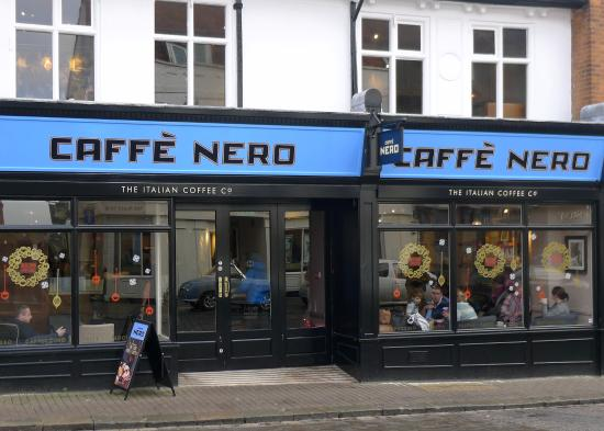comparing tsb and caffe nero Costa and caffè nero both serve smaller drinks for customers who sit in than those who take away in starbucks, the volume is the same regardless of whether you drink in or takeaway, the company.