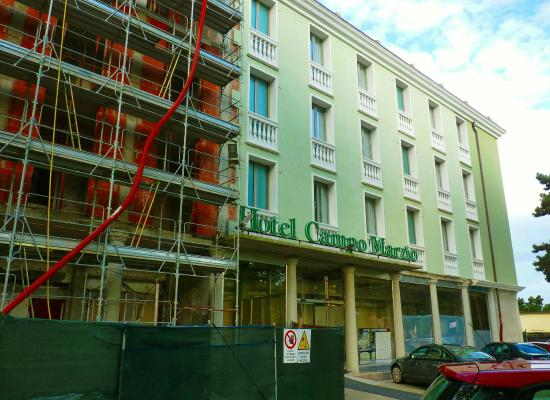 hotel campo marzio note ongoing construction picture
