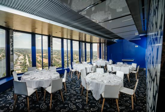 Private dining room picture of the blue at the boca for Fish restaurants in boca raton
