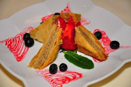 Baklava dessert picture of arya global cuisine for Arya global cuisine menu