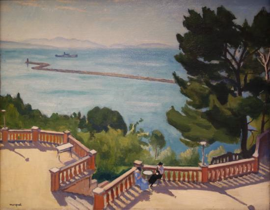 Albert marquet the terrace l 39 estaque picture of for Danish terrace