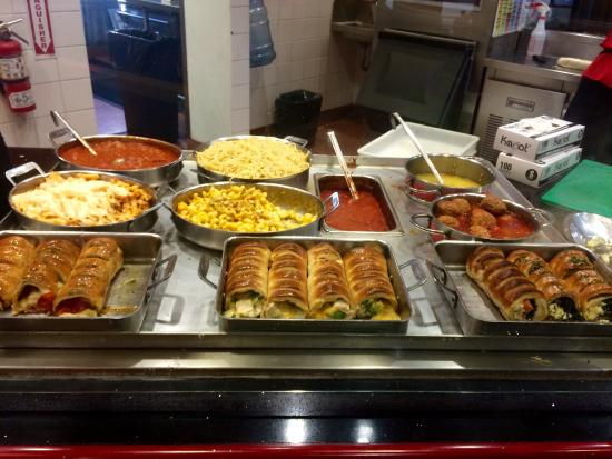 Wraps and sandwiches picture of villa fresh italian for Q kitchen pasta buffet
