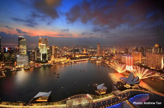 Singapore: View from MBS