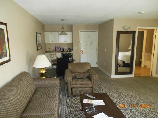 Tuscany Suites & Casino: A view