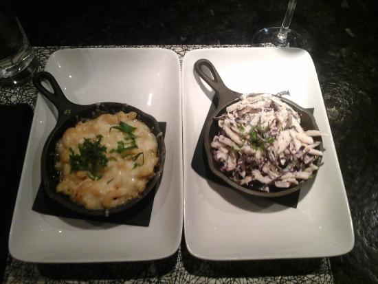 Impeccable Mac & Cheese with Refreshing Brickhouse Slaw - Picture of ...