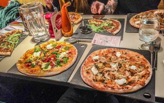 Fire and Stone - Covent Garden: Pizza time...