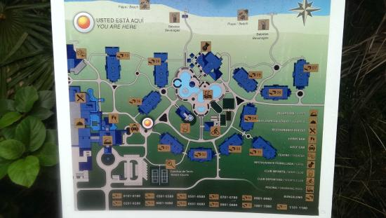 Map Of Hotel Picture Of Starfish Cayo Santa Maria Cayo