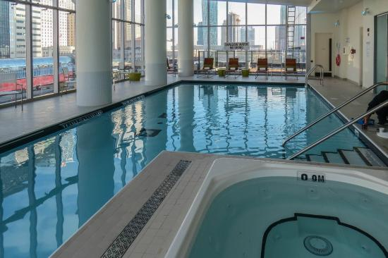 View from our room photo by mike keenan delta toronto for Pool show toronto 2015