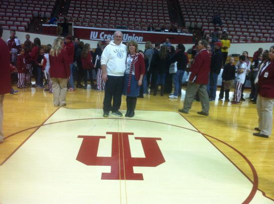 Assembly Hall Bloomington Assembly Hall Center Court