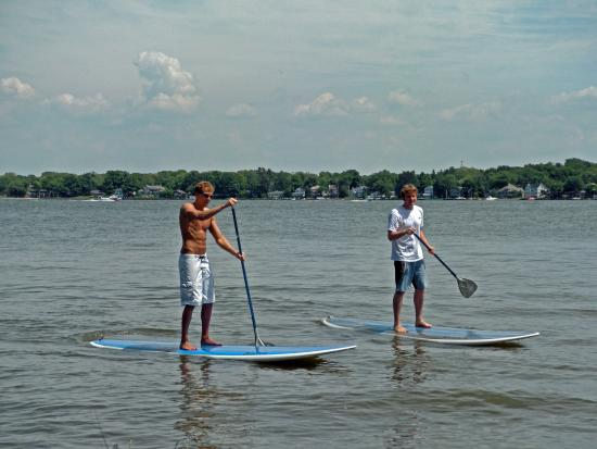 Holland, MI: Try stand-up paddleboarding, and more on Lake Michigan!