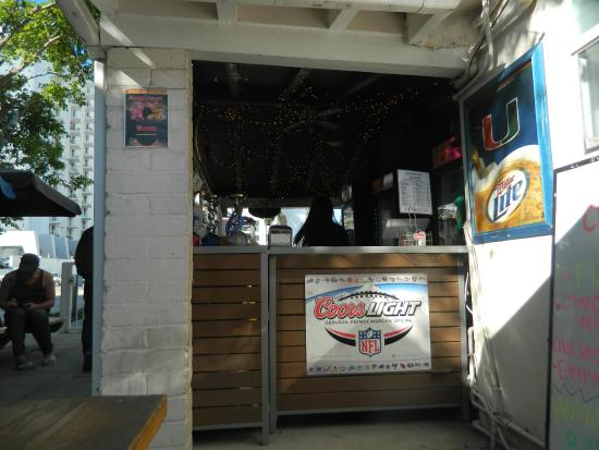 Cafe Terrace Picture Of Bikini Hostel Cafe Beer Garden Miami Beach Tripadvisor