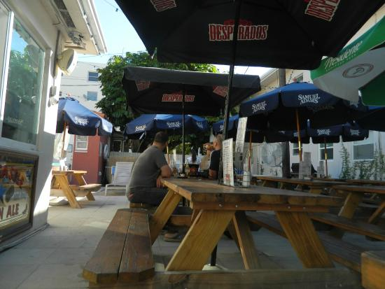 brunch picture of bikini hostel cafe beer garden miami beach tripadvisor