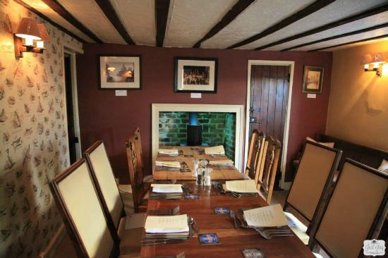 Gestingthorpe, UK: Private Dining Area for up to 12 Guests