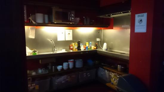 urbany hostel bcn go the kitchen down in the basement