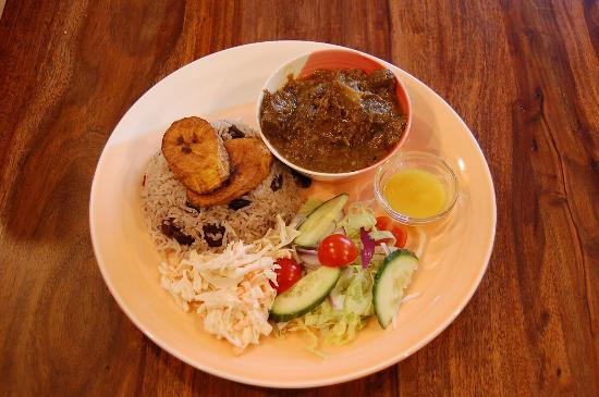 Dominican Curry Goat Ltd Curry Goat And Rice