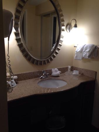 Homewood Suites Dulles - North / Loudoun: Beautifully appointed bathroom fixtures