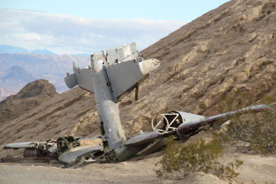 Plane Crash Picture Of Nelson Ghost Town Nelson