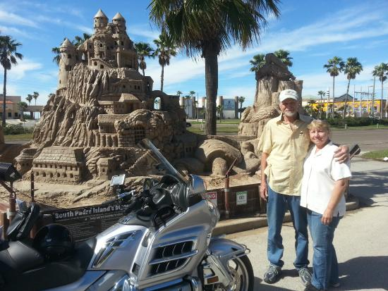 Texas Gulf Coast, TX: Sandcastles and goldwings