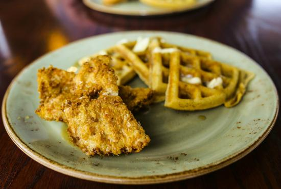 Chicken and waffles picture of table 9 morgantown for Table 9 morgantown