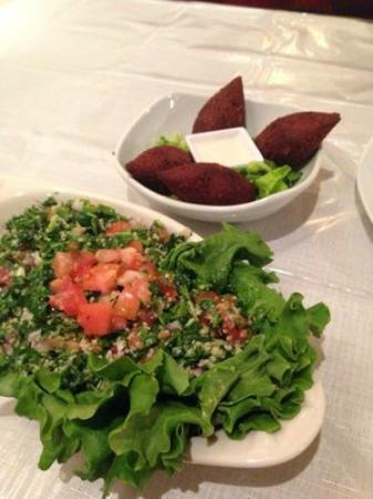 The best koba tabooli picture of amal 39 s middle eastern for Anoush middle eastern cuisine north york