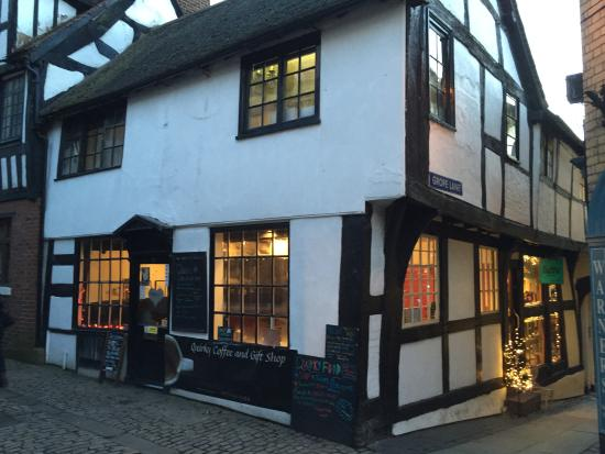 The Place To Go For Tea In Shrewsbury Review Of Quirky Coffee And Gift Shop Shrewsbury