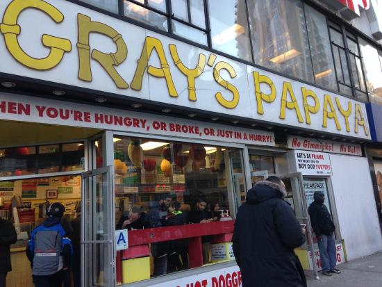 Picture of gray 39 s papaya new york city for New york bed and breakfast economici