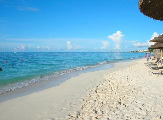 Beach Towards Beaches Resort Picture Of Coral Gardens On